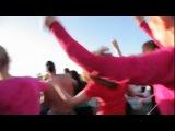 В преддверии «Алые паруса – 2012» выпускники из Санкт-Питера устроили танцы на воде